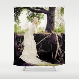 The Water's Bride Shower Curtain