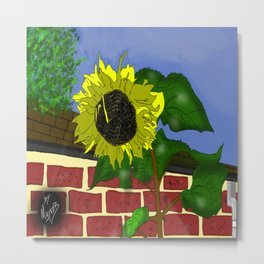 Thee Sunflower by Mgyver Metal Print