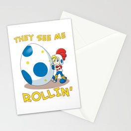 Billy Hatcher - They See Me Rollin' Stationery Cards