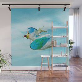 Does the end of the Parrot Wall Mural