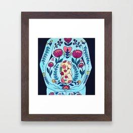 Blooming in Love Framed Art Print