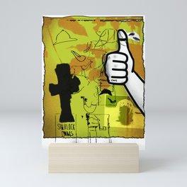 Sherlock Ohms Mini Art Print