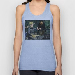 Edouard Manet - In the Conservatory Unisex Tank Top