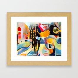 City Life II Framed Art Print