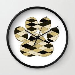 Dog Paw Wall Clock