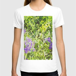 Wild Delphinium Bliss T-shirt