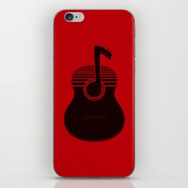 Classical Notes RED iPhone Skin