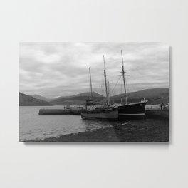 Inveraray Boats Metal Print