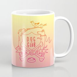 Dog Club Coffee Mug