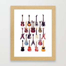 Guitar Life Framed Art Print