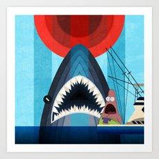 Gonna need a bigger boat Art Print