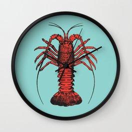 Spiny Lobster Wall Clock