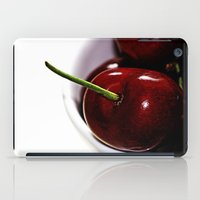 cherry iPad Cases featuring Cherry by LoRo  Art & Pictures
