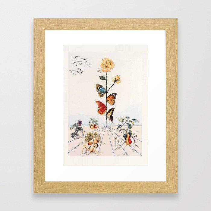 Salvador Dali Gerahmter Kunstdruck
