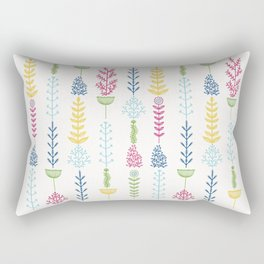 Vertical Nature Rectangular Pillow