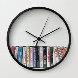 Full Tilt Cassettes Wall Clock