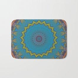 Basal Color Mandala 3 Bath Mat