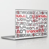 paramore Laptop & iPad Skins featuring Trust in Trance Music by Sitchko Igor