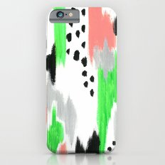 Green Pattern Slim Case iPhone 6s