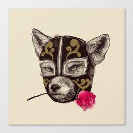 The Mask of Zorro Luchador Canvas Print