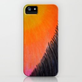 """""""Along the lake.."""" iPhone Case"""