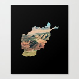 Afghan Canvas Print