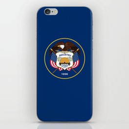 Utah State Flag - Authentic Version iPhone Skin