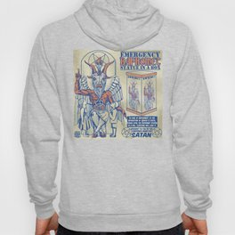 Baphomet Statue in a Box Hoody