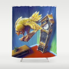 The Cuckoo Clock of Doom Shower Curtain