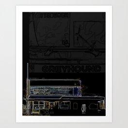 GBS 01 Art Print