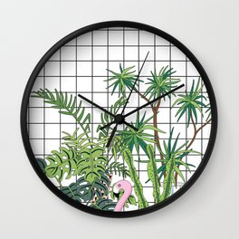 room plants Wall Clock