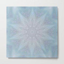 Blue Crown Metal Print