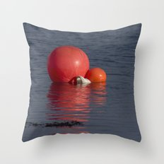 Bright Buff Throw Pillow