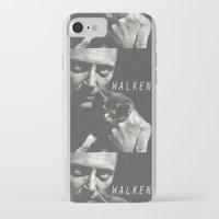 christopher walken iPhone & iPod Cases featuring Christopher Walken / Cat by Earl of Grey