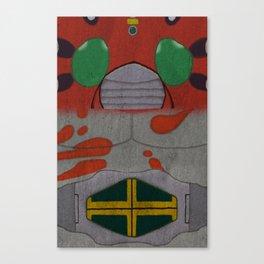 Kamen Rider ZX Canvas Print