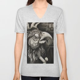 Bird of Pray Unisex V-Neck