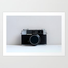 Oh Snap! Vintage Camera Art Print