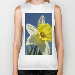 Daffodil Out of the Blue Biker Tank