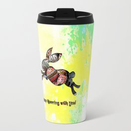 Happy Easter Rabbit - Keep Runing with You Travel Mug