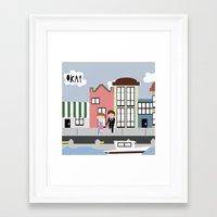 tfios Framed Art Prints featuring Amsterdam (TFIOS) by Natasha Ramon