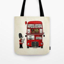 Lost in London Tote Bag