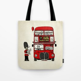 Lost in London Tote Bag