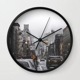 New York City Street Wall Clock