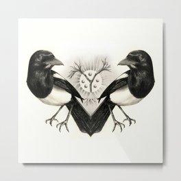 Pica Pica Metal Print