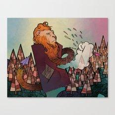 Lion Revisited Canvas Print