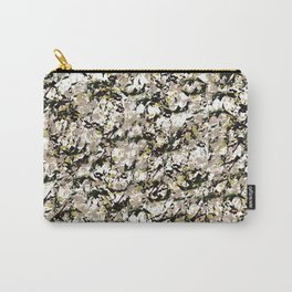 Shattered Floral Carry-All Pouch