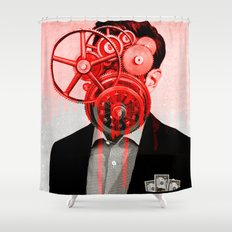 Machine Head R2 Shower Curtain