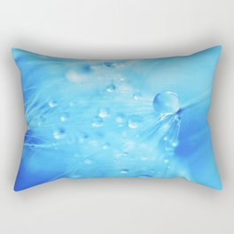 A Poem From Rain III Rectangular Pillow