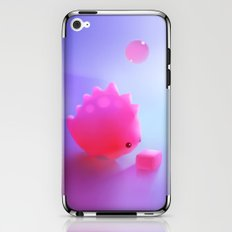 Bubble Gum Dino iPhone & iPod Skin