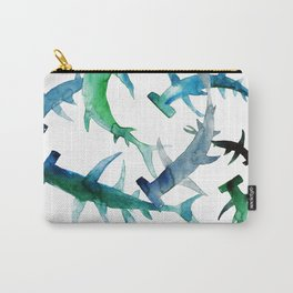 hammerhead sharks Carry-All Pouch